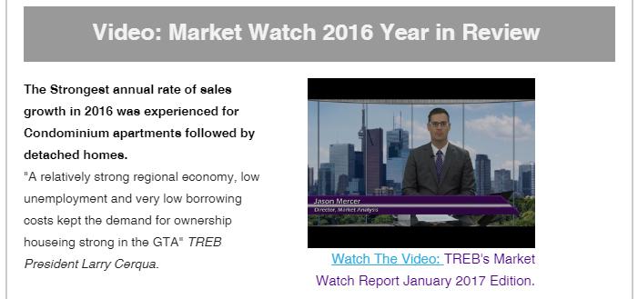 2017 Toronto real estate video