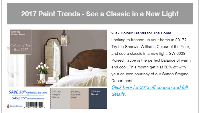 2017 colour of the year home interior design