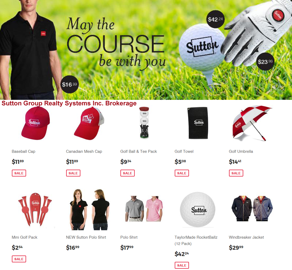 The Sutton Golf Sale is in Full Swing! Check Out The Sutton Boutique!