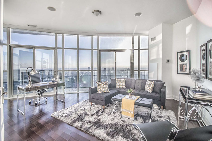 Absolute Mississauga Penthouse Photos