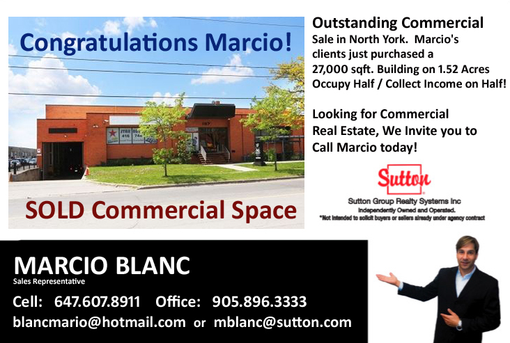 Marcio Blanc top commercial Agent